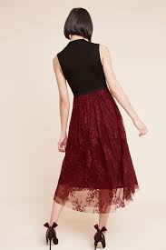 Pierre Dress Anthropologie Hd In Paris Ballou Dress In Red Lyst