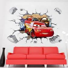Disney Bedroom Wall Stickers Tv Movies U0026 Music Unbranded Décor Wall Decals Art Ebay