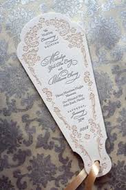 ceremony program fans which wedding program format is right for you wedding programs