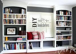 Diy Built In Desk by Built In Book Shelves U2013 Appalachianstorm Com