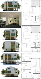 minimalist house plans narrow lot