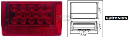 Optronics Led Trailer Lights Led Right Hand Submersibletrailer Tail Light Stl56rb