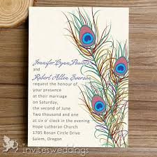 peacock wedding invitations peacock wedding invitations cheap invites at invitesweddings
