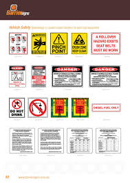 Overhead Door 65b by Traffic U0026 Safety Signage Catalog Simplebooklet Com