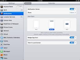 customizing notification center customizing the notification