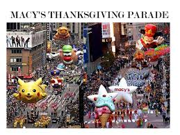 thanksgiving is a big which is celebrating in america each