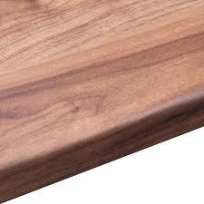 38mm b u0026q romantic walnut laminate square edge kitchen worktop