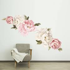 floral wallpaper mural watercolor peony large self adhesive floral wallpaper mural watercolor peony large self adhesive wallpaper floral wall decals fabric wall