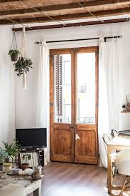 No Drill Curtain Pole Renter Friendly Window Treatment Ideas That Don U0027t Damage Walls