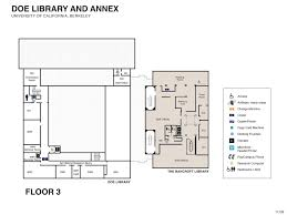 floor plans uc berkeley library floor plans