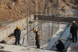 Rebar Worker Hsr High Speed Rail Construction In China Prism Engineering