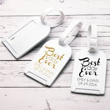 wedding tags for favors luggage tags wedding favors favors design ideas leather luggage