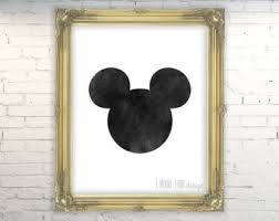 Mickey Home Decor Mickey Mouse Clubhouse Decor Etsy