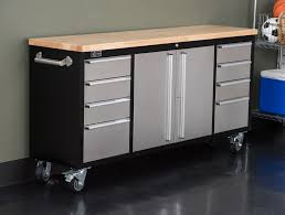 Kitchen Rolling Cabinet Kitchen Rolling Cart Storage Island Natural Wood Top Utility In