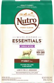 nutro wholesome essentials small bites pasture fed lamb