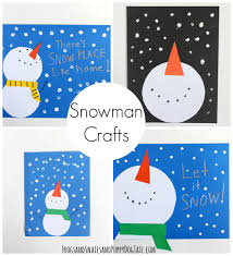 snowman craft for kids snowman crafts snowman and winter