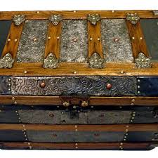 beautiful travel trunks antique steamer trunks and chests collectors weekly