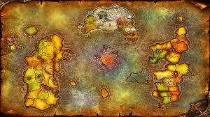 World Of Warcraft Map by Thousand Needles Map Wallpaper 1421064