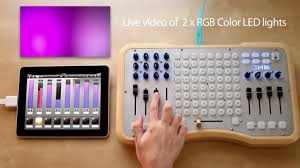 dmx light control software for ipad luminair for ipad usb midi controlling dmx youtube