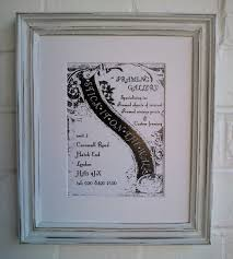 rustic shabby chic vintage style picture frames hand finished