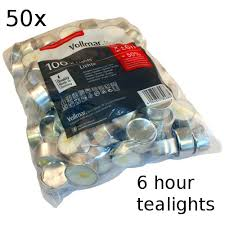 6 hour tea lights 50x tealights 6 hour soul escape gift shop