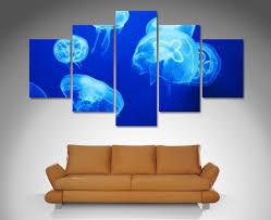 5 split panel canvas art