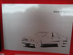1997 mercedes benz c220 c280 c36 amg owners manual book bashful yak