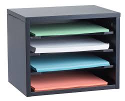 Stackable Desk Organizer Adiroffice Stackable Desk Organizer With Curved Edge Removable