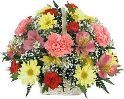 basket of flowers flower basket collection