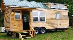 tiny house custom built by hummingbird of georgia 8 5 x 26 youtube