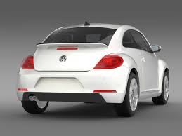 volkswagen beetle studio max 3d 3d model of vw i beetle 2015 youtube