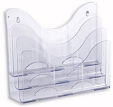 clear acrylic desk organizer desktop clear acrylic file document organizer letter sorter magazine