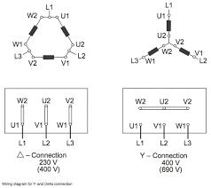 delta wye motor connection diagram e diagram