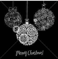 black and white ornaments royalty free stock image