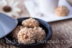 cuisine alg駻ienne gateaux recettes recette land recette de mchewek aux cacahuètes gâteau algérien