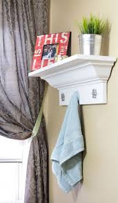 how to build a decorative shelf with crown molding pretty handy