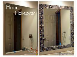 Remove Mirror Glued To Wall How To Frame A Bathroom Mirror