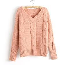 knitted sweater arrival twist bat sleeve knitted sweater wear