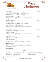 nyc thanksgiving restaurants thanksgiving day menus moejoe u0027s family restaurant manchester