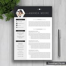 creative cover letter design creative professional resume template cv template cover letter