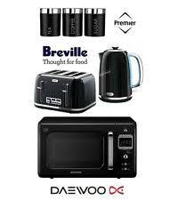 Black Kettle Toaster Set Breville Kettle And Toaster Sets Ebay