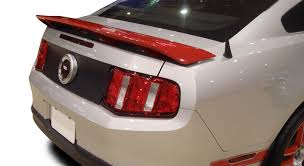 california style mustang 2010 2014 ford mustang california special style rear deck spoiler