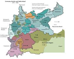 map germany austria map association of german speaking professional genealogists