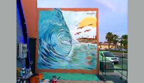 Surf Mural by Carryover Surf Art As Expressive And Diverse As The Sea The Inertia
