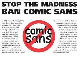 Meme Font Style - image 127285 comic sans know your meme