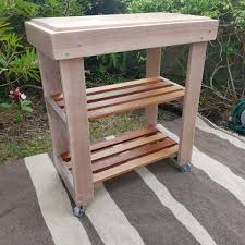 kitchen island trolley huon pine kitchen island trolley butchers block bar table leaf