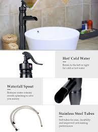 Vessel Faucets Oil Rubbed Bronze Co Z 12 2