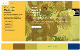 vibrant colors in web design 20 visually impactful websites to
