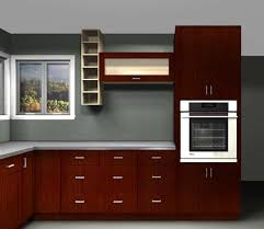 Ikea Red Cabinet Optimizing Kitchen Space With Contemporary Ikea Cabinets