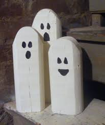reclaimed wood ghosts rustic halloween decor u2013 gft woodcraft